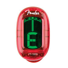 Fender FT-1620 California Series clip on Tuner 023-9981-009 Candy Apple Red NEW