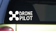 Drone Pilot sticker *I406* 3.5x8.5 inch decal doomsday drone air plane remote