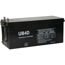 UPG 12V 200Ah 4D SLA AGM Battery Replacement for Solar Systems