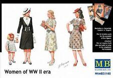 MAS35148 Masterbox 1:35 - Mujeres de época Segunda Guerra Mundial
