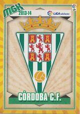 N°428 ESCUDO BADGE ECUSSON SCUDETTO # CORDOBA.CF CARD PANINI MGK LIGA 2014