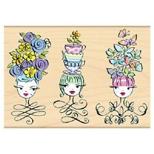 PENNY BLACK RUBBER STAMPS TRES CHIC STAMP