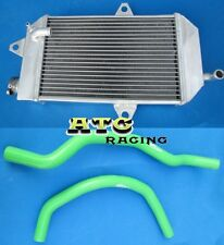 FOR ATV YAMAHA banshee YFZ350 YFZ 350 oversized Aluminum Radiator & BLUE HOSE