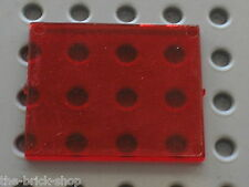 Vitre TrRed Glass ref 3855 LEGO Espace space / Set 6986 6781 6895 6886 6955 ...