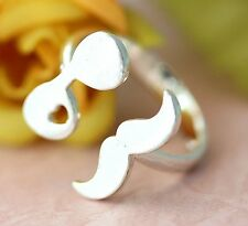 Mustache Gentleman Ring Sunglasses Man Funny Unique Ring Adjustable