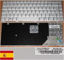 Clavier Qwerty Espagnol ASUS W3 W3A W3J A8F F8 V020662CK1 0KN0-712SP11 Gris