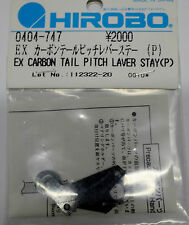 Hirobo 0404-747 EX Umlenkhebel Halter Karbon  CARBON TAIL PITCH LEVER STAY(Pipe)