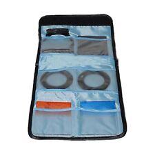 6 Pocket Camera Filter Lens UV CPL Shockproof Bag Case Pouch Wallet 25-82mm