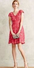 NWT SZ 6 MELON LACE DRESS BY YOANA BARASCHI STUNNING REVIEWER FAVORITE!