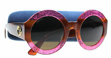 New Gucci Sunglasses Women  GG 0084 Pink 003 GG0084/S 51mm