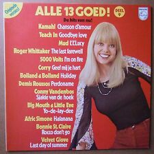 LP Various - Alle 13 Goed! Deel 9 Sexy Girl Cheesecake Cover Mud Teach In Nm