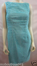 CALVIN KLEIN AQUA DRESS SIZE 6  CD5L1B2M NEW WITH TAG