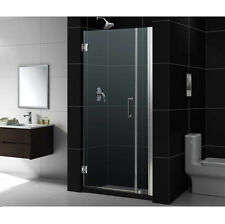 "UNIDOOR 34"" - 35""  DREAMLINE 3/8""  GLASS FRAMELESS PIVOT SHOWER DOOR CUSTOM SIZE"