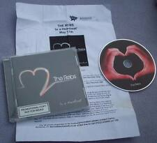 THE REBS In A Heartbeat PROMO CD ALBUM + FLYER Southampton Indie BRITPOP