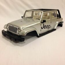 Jeep Wrangler Unlimited 1/10 Scx10 HPI Tamiya Traxxas RC4WD Axial Hard Body