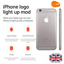 IPhone 6 retroiluminación LED con el logotipo Apple noche brillante con logotipo parte Mod Kit de Luz