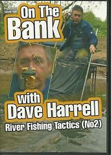 ON THE BANK WITH DAVE HARRELL DVD RIVER FISHING TACTICS (No 2)