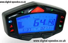 KOSO DB03R Digital Speedometer Speedo Dash Gauge RPM, Temp, Gear Indicator, Fuel