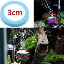 Refinement aquarium device CO2 ceramic diffuser slice CO2 diffuser Dia:3cm A