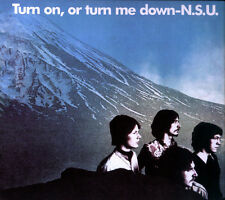 "N.S.U. :  ""Turn On, Or Turn Me Down""  (CD)"