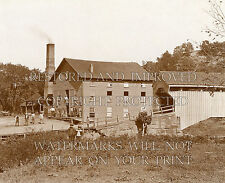 Mill & covered bridge West Virginia WV photo CHOICE 5x7 or request 8x10 or digta