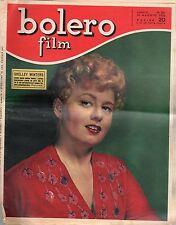 rivista fotoromanzo - BOLERO - Anno 1952 Numero 261 SHELLEY WINTERS