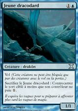 *MRM* FR 4x Jeune dracodard (Spiketail Hatchling) MTG 10th edition