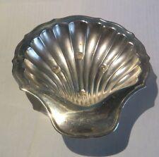 Coupelle argenterie en forme de coquille Saint Jacques «  PLATO Silver plated En