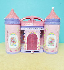 My Little Pony Crystal Rainbow Castle Pop Up Palace House Lot 10 Ponies Varied