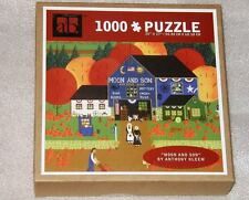 New AB 1000 Pieces Jigsaw Puzzle Sealed Anthony Kleem Moon and Son