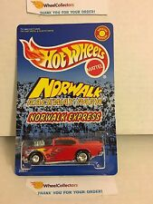 '57 Chevy RED w/ Real Riders * Norwalk Race Park * Hot Wheels * W2