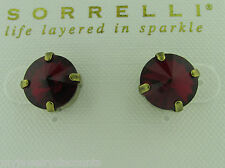 Sorrelli Siam Earrings ECM14AGSI Antique gold tone