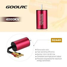 High-torque GoolRC S2440 4000KV Brushless Motor for 1/18 1/16 RC Car W1Z7