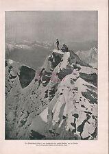 1911, Artikel Der Kleinglockner von Großglockner aus gesehen
