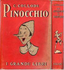 i Grandi Libri Salani C.Collodi LE AVVENTURE DI PINOCCHIO