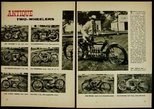Antique Motorcycle pictorial Merkel/Pierce/Indian/Yale/Pope/Excelsior/Wagner/+++