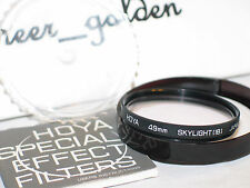 HOYA 49mm skylight (1B) filter w/case