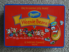 Weenie Beans - 12 Delicious Flavours Gourmet Jelly Bean tin - Raised beans