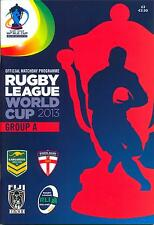 RUGBY LEAGUE WORLD CUP 2013 GROUP A MINT PROGRAMME