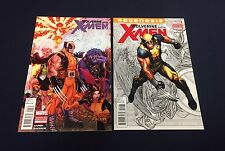 WOLVERINE AND THE X-MEN #1 : VARIANT SET : 1:15 BRADSHAW : 1:25 CHO : 2011
