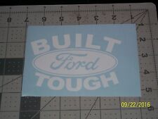 "Built Ford Tough 5"" Vinyl Decal sticker laptop windows wall car boat"