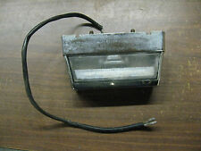 85 SUZUKI MADURA GV700 GV 700 LICENSE PLATE LIGHT