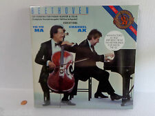 NEW Beethoven Yo Yo Ma Emanual Ax Sonatas Piano Cello 3 Vinyl LP BOX Set SEALED
