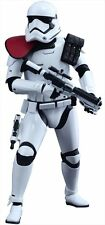 Star Wars HOT TOYS First Order STORMTROOPER 1/6 Figure! NEW Movie Masterpiece