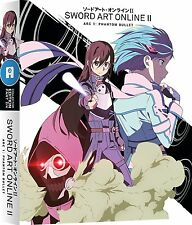 Sword Art Online II Series 2 Part 2 Collectors Blu ray & DVD New & Sealed ANIME
