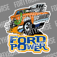 Ford Vinyl Stickers - XY Falcon - Ford Power