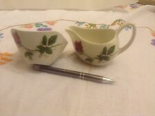 Midwinter Fashion Rose milk jug and sugar bowl