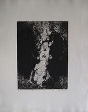 GILLET ROGER EDGAR GRAVURE 1963 SIGNÉE AU CRAYON NUM/20 HANDSIGNED NUMB ETCHING