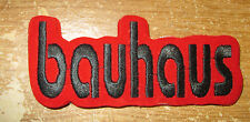 BAUHAUS COLLECTABLE RARE VINTAGE PATCH EMBROIDED 90'S METAL LIVE