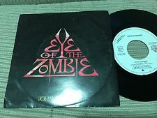 "JOHN FOGERTY - SPANISH 7"" SINGLE SPAIN PROMO WEA 86 EYE OF THE ZOMBIE SYNTH POP"